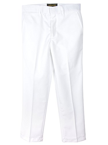 Spring Notion Boys' Flat Front Dress Pants 3T
