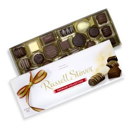 Russell Stover Asst Chocolates Premium Collection Box, 10 Ou