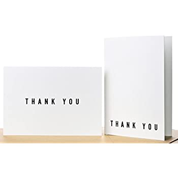Amazon Com Wilton 100 Pack Basic Thank You Cards 200 Pack