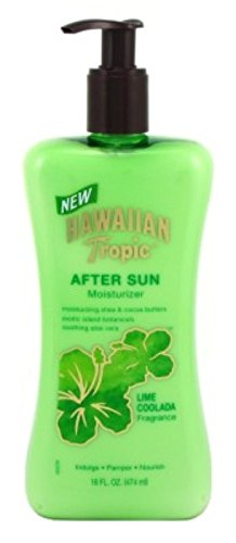 (Hawaiian Tropic Lime Coolada After Sun Moisturizer-16 oz, 2 pack)