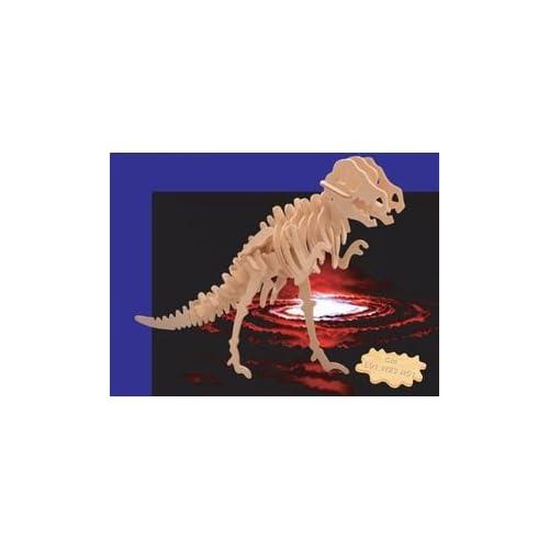 Free Shipping Wooden 3d Tyrannosaurus Puzzlelarge Dinosaur Puzzle