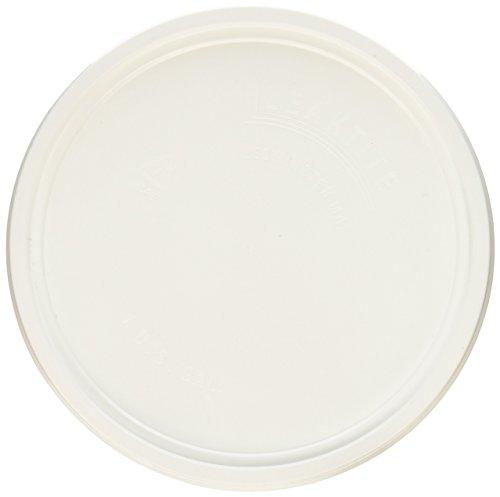 - LEAKTITE 1GLD Gallon lon White Plastic Pail Lid
