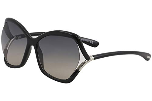 Ford schwarz glanz Sonnenbrille Tom FT0579 YHwxY4