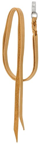 Reins Light Oil - Tough 1 Royal King Saddle String with Dee Ring, Light Oil