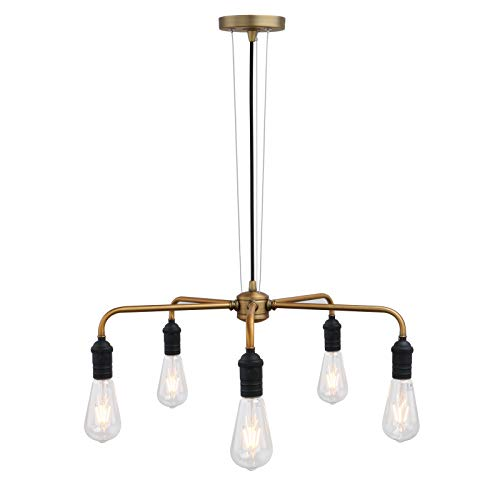5 Arm Pendant Lights in US - 3