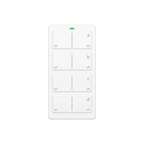 Keypad Gang - Insteon 2342-232 Mini Remote 4-Scene Keypad - Controls On/Off & Dimming, Rechargeable Battery (White)