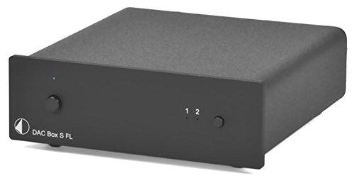 Pro-Ject DAC Box S FL (black) Digital To Analog Converter, Black by Pro-Ject