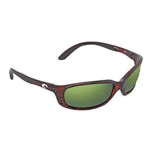 (Costa Del Mar Brine Polarized Iridium Oval Sunglasses, Tortoise, 58.8)