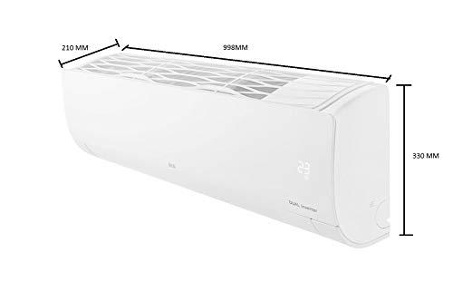 LG 1.5 Ton 4 Star Inverter Hot & Cold Split AC (Copper, KS-H18DNYD, White, Ez Clean Filter) 3
