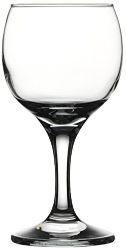 Circleware 44560 Savannah Street Wine Glasses (Set Of 6), 10 oz, 10oz (For Bulk Sale Wine Glasses)