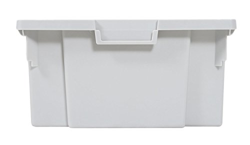 Large Mobile Storage - Luxor 4 Large Stackable Storage Bins for Mobile Bin System