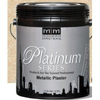 Modern Masters PSMP704-GAL Parchment Metallic Plaster, 1-Gallon - Modern Masters Plaster