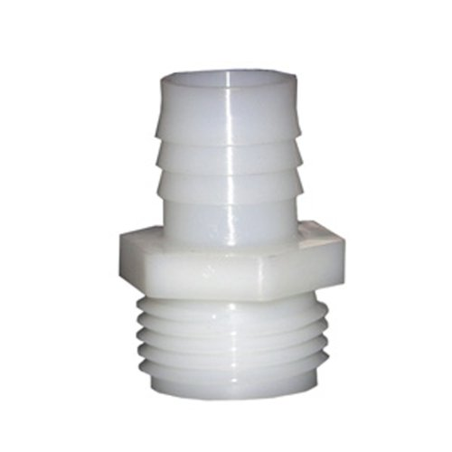 LASCO 19-9509 Male Hose Thread Adapter Barb Fitting with 3/4-Inch Barb and 3/4-Inch Male Hose Thread, Nylon