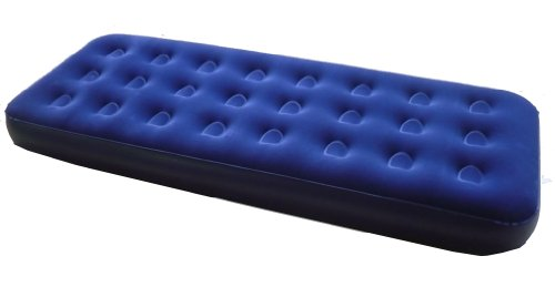"Zaltana Single Size Air mattress (Size:73""x29""x7.5""), Royal Blue, AMT-S"