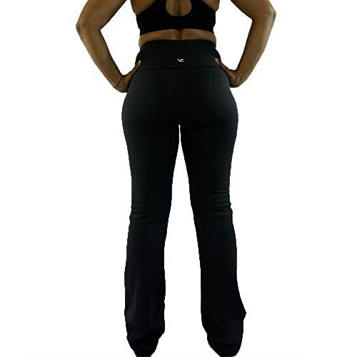 "604ccf3d21 Victoria's Challenge Tummy Control Compression | Thermal Boot Cut Yoga Pants  27"" – 39"""
