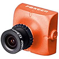 Foxeer HS1177 V2 600TVL FPV Camera Metal Case - NTSC - Lens 2.5mm - Orange