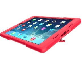 The Best BLACKBELT 2ND DEGREE RUGGED CASE FOR IPAD AIR- RED by Generic