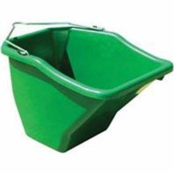 5 Gallon Flat Back Bucket - LITTLE GIANT Plastic Better Bucket, 20-Quart, Green