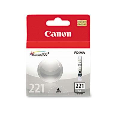 Brand New Canon - 2 Pack - 2950B001 (Cli-221) Ink Gray