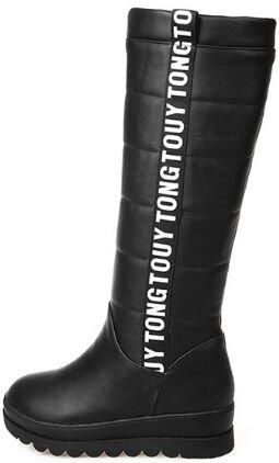 pour neige de femmes Laruise Bottes noires wqt110x
