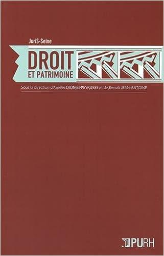 Lire un Droit et Patrimoine pdf