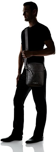 Bag Black Men's 6 5x21 Crossbody Noir cm 5x28 Black L x H W 5 Levi's Regular Shoulder Pu HqpxRRU