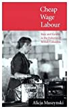 Cheap Wage Labour : Race and Gender in the Fisheries of British Columbia, Muszynski, Alicja, 0773513760