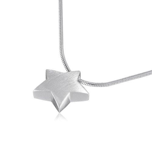 VINANI Anhänger Magic Star mit Kette 50 cm Silber 925 AMS50