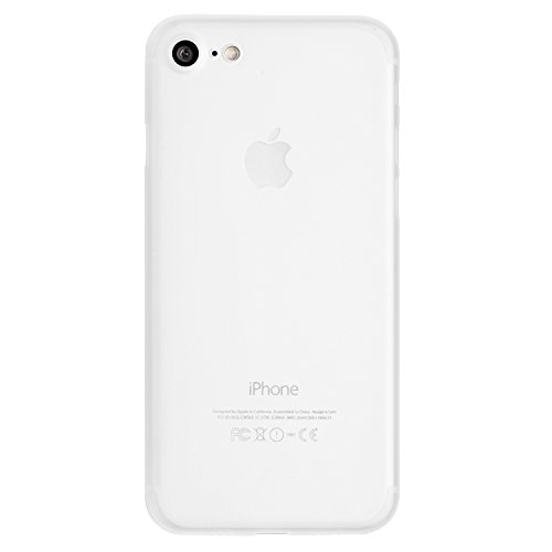 totallee iPhone 7 Case, Thinnest Cover Premium Ultra Thin Light Slim Minimal Anti-Scratch Protective - for Apple iPhone 7 The Scarf (Frosted White)