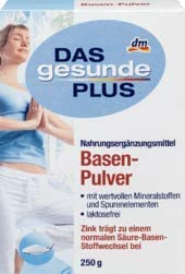 DAS gesunde PLUS Basen-Pulver, 1 x 250 g Nahrungsergänzungsmittel