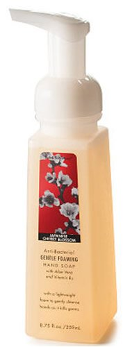 Bath & Body Works Anti-bacterial Gentle Foaming Hand Soap Japanese Cherry Blossom 8.75 Fl Oz