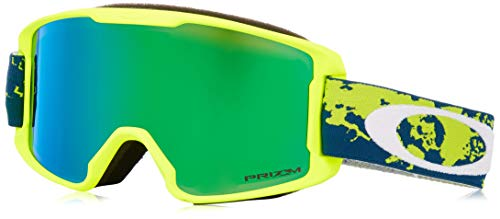 Oakley Line Miner Youth Snow Goggle, Arctic Fracture Retina, Small (Youth Ski Goggles Oakley)
