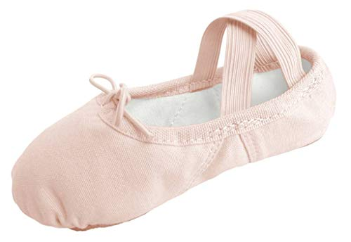 Dancina Girls Canvas Ballet Slipper/Ballet Shoe/Dance Shoe (Toddler/Little Kid) – DiZiSports Store
