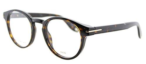 Givenchy GV 0002 086 Havana Plastic Round Eyeglasses 49mm