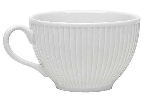 Pillivuyt Plisse 8 oz. Fine French Porcelain Cup   Set of 4