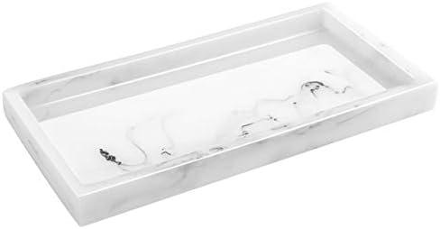 Luxspire Storage Bathroom Organizer Rectangular