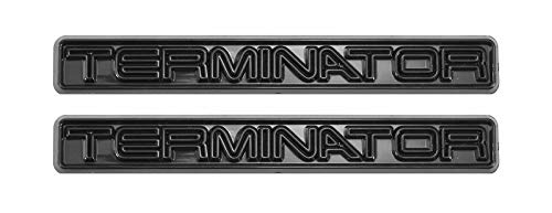 2003 & 2004 Cobra SVT Terminator Emblems with All Black Finish - 5