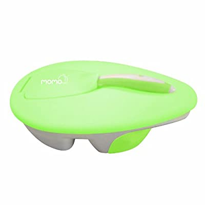 Momo Baby Travel Bowl and Spoon Set, Green from momo Baby
