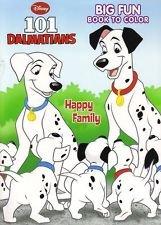 101 Dalmatians Coloring Book Happy Family