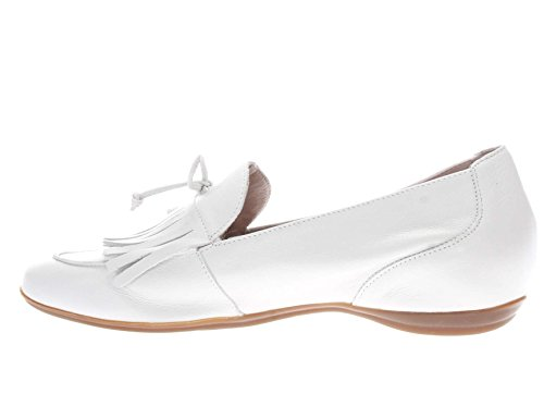 Mocassino Wonders Bianco Donna Frangia Con adwz6x