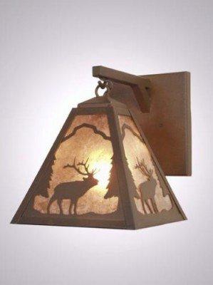 Steel Partners Hanging Sconce - Timber Ridge (Ridge Handcrafted Lamp)