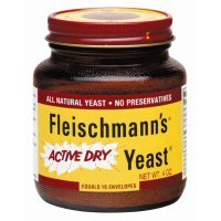 Fleischmann's Active Dry Yeast, 4 Ounce Jar (Pack of 12) by Fleischmann's