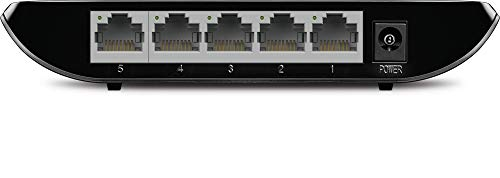 TP-Link 5 Port Gigabit Ethernet Network Switch | Ethernet Splitter | Plug-and-Play | Traffic Optimization | Unmanaged (TL-SG1005D)