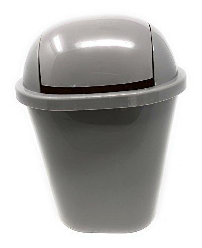 (Mini Movable Cover Desktop Trash/Creative Desk Plastic Storage Box/Car Trash Bin/Small Wastebasket Storage Barrel Mini Small Household Kitchen Trash Can, 10