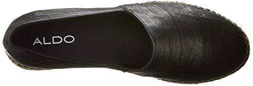 Cowee Black Leather Form Flat Women's Aldo Espadrille vwgq8Pv