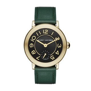 Marc Jacobs Women's Riley Green Leather Watch - MJ1469
