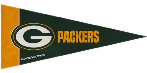 Green Bay Packers NFL Mini Pennant Set (8) ()
