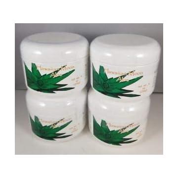 Image of Health and Household Hawaiian Moon Aloe Cream - 9 Oz Skin Care Jar - Pack of 4