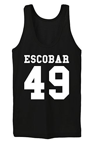Escobar 49 Tanktop Girls Nero