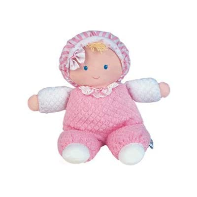 Eden Terry Girl Baby First Soft Doll: Toys & Games